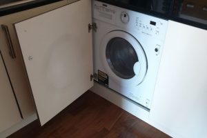 integrated washing machine front
